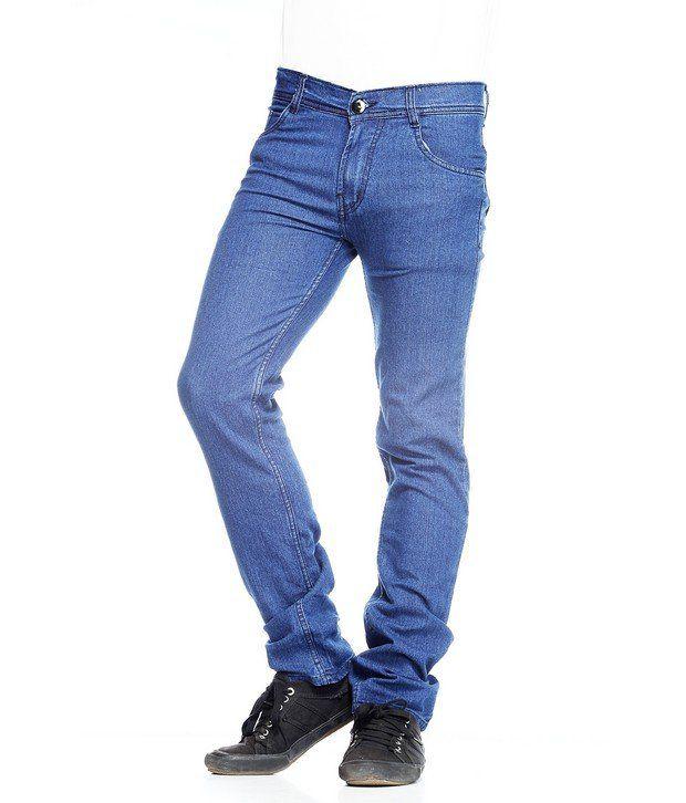 NX Sky Blue Basic  Jeans