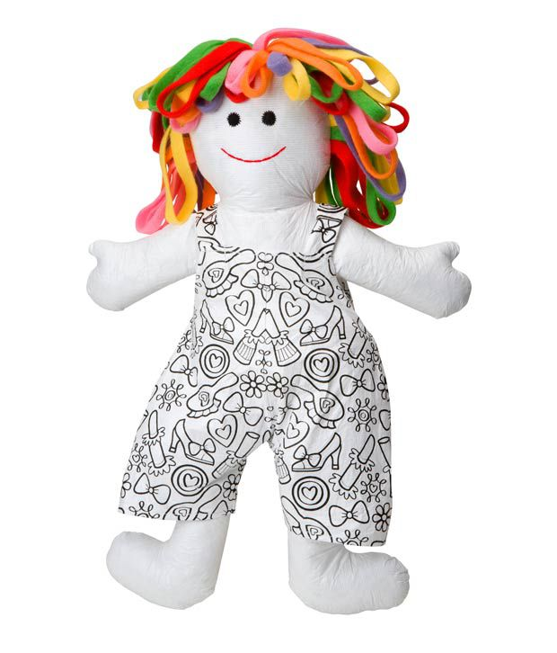 Alex Toys Color and Cuddle Washable Doll