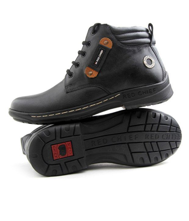 Black Ankle Shoes India