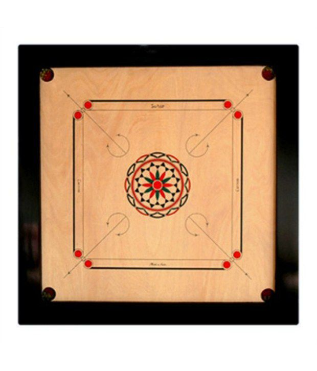 Golden Carrom Board Champion (2 X 1.5)