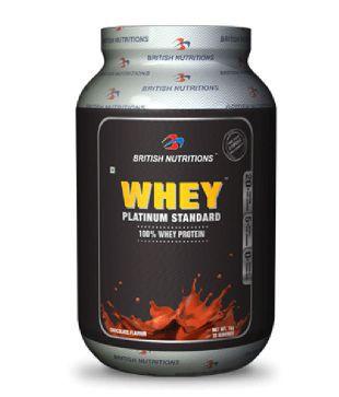 British Nutritions Whey Platinum Standard 2 kg Vanilla