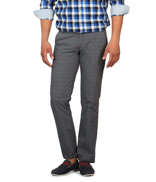 American Swan Dark Grey Trouser
