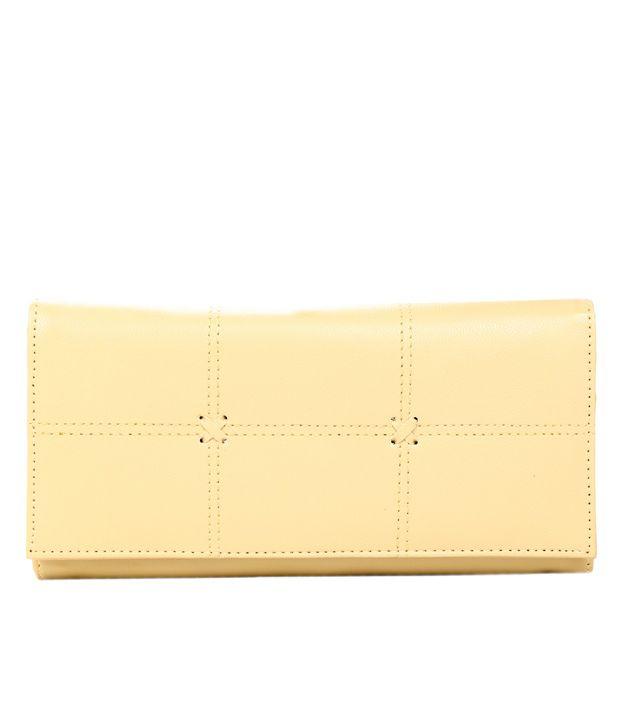 Adora Stylish Beige Wallet