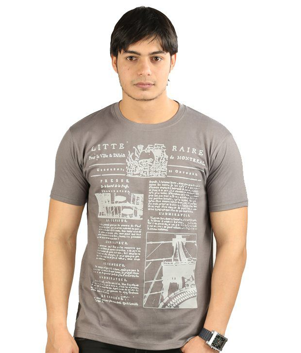 UK Tribes Grey T Shirt