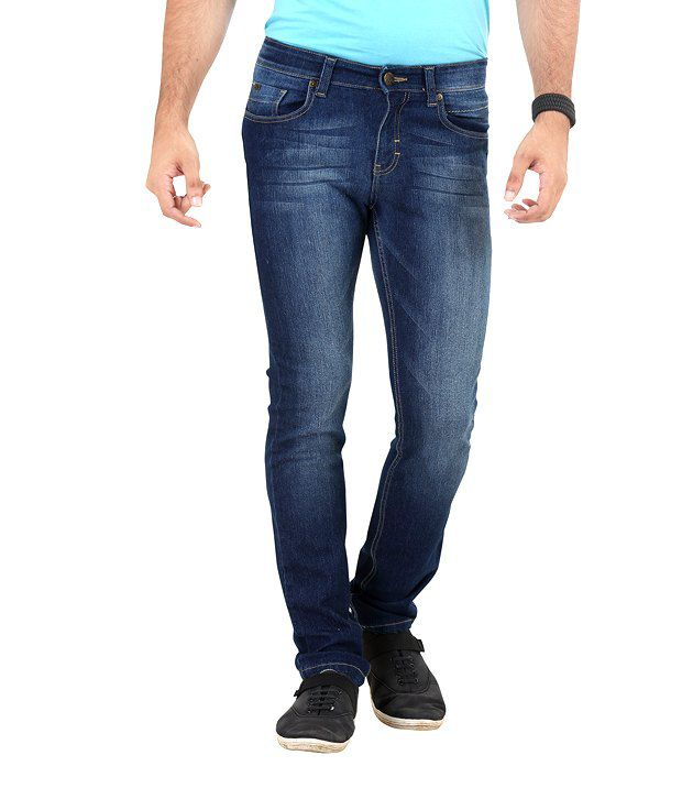 Euro Jeans Soft Blue-Rinse Jeans
