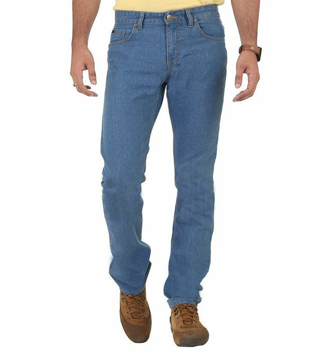 Euro Jeans Regular Fit Light Blue Jeans