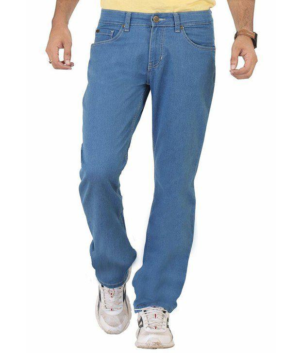 Euro Jeans Blue Denim Jeans For Men