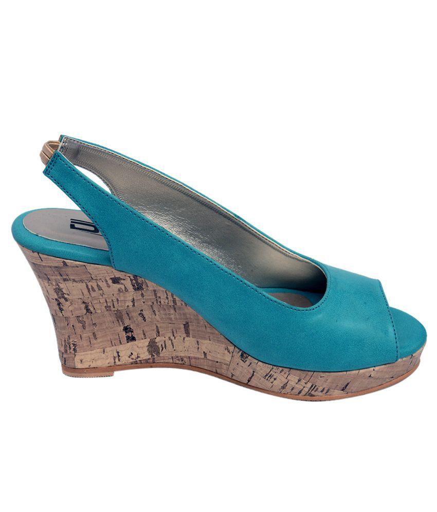 DZ Smart Teel Wedge Heel Sandals
