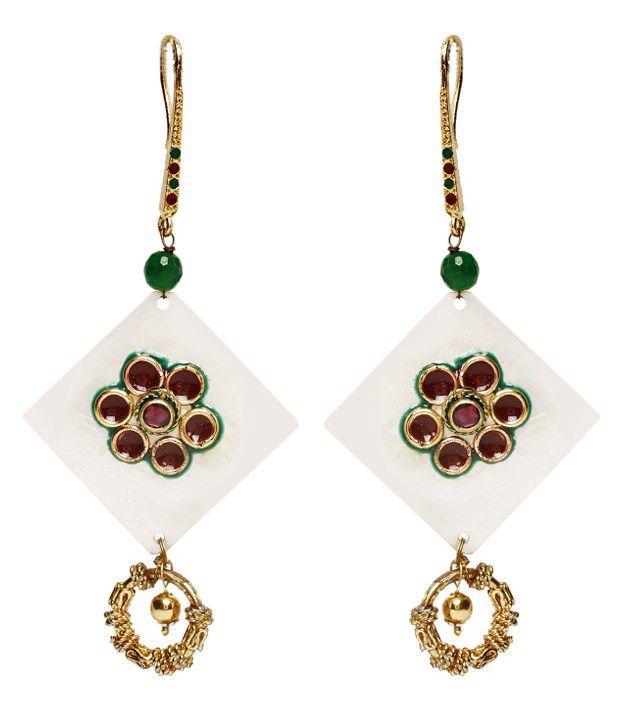 Ada Green Earrings