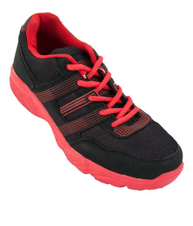 3a5a694f90 Zovi Eye-Catchy Red And Black Sports Shoes - Buy Zovi Eye-Catchy Red And  Black Sports Shoes Online at Best Prices in India on Snapdeal