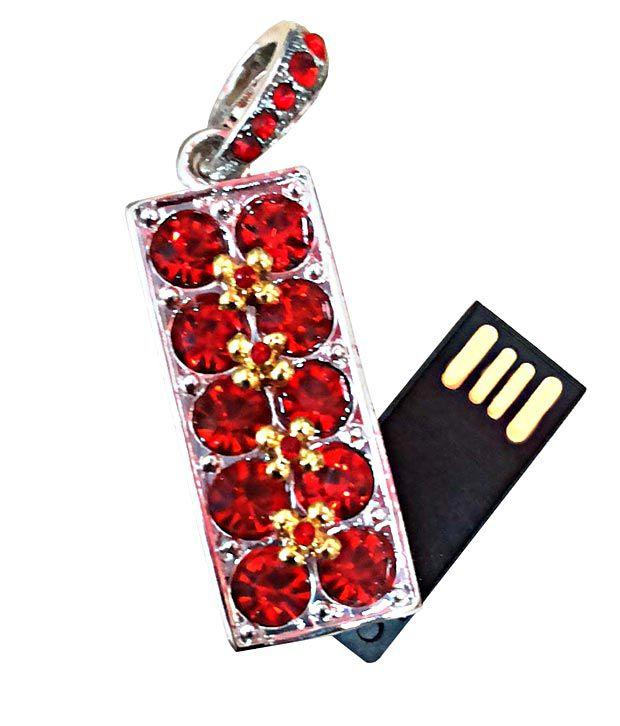 ZBEL Red Diamond 4 GB Pen Drive