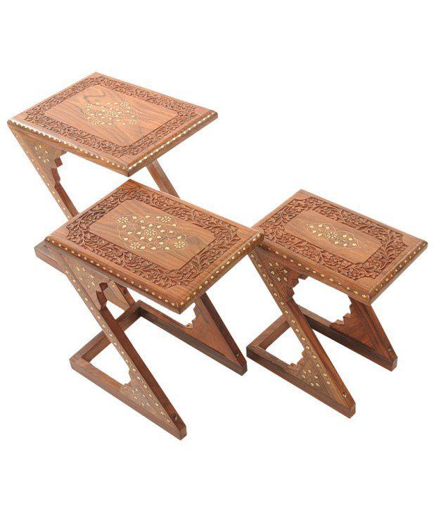 Pindia Fancy Z Shaped Table Set
