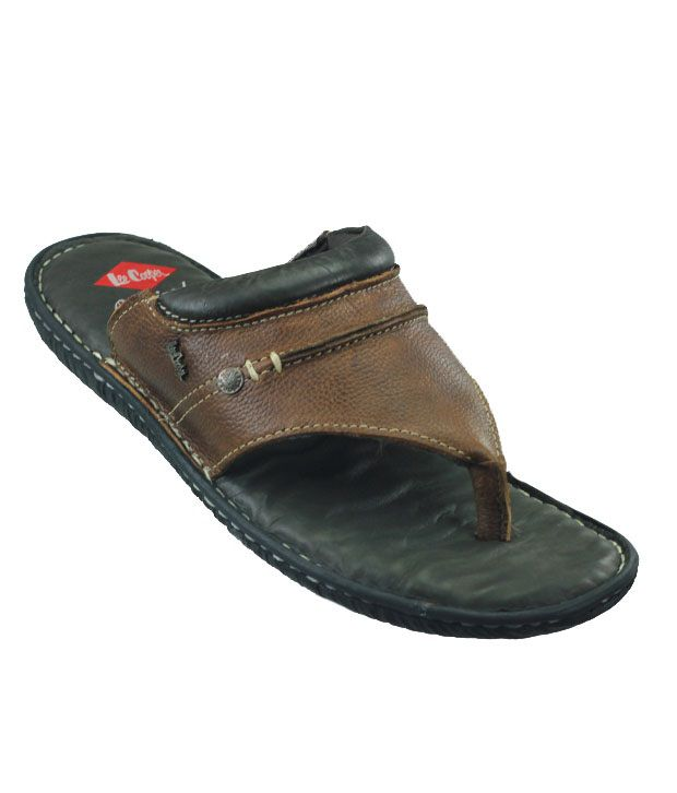 d512814599b49 Lee Cooper Brown Thong Slippers Art LC1486BRN Price in India- Buy Lee Cooper  Brown Thong Slippers Art LC1486BRN Online at Snapdeal