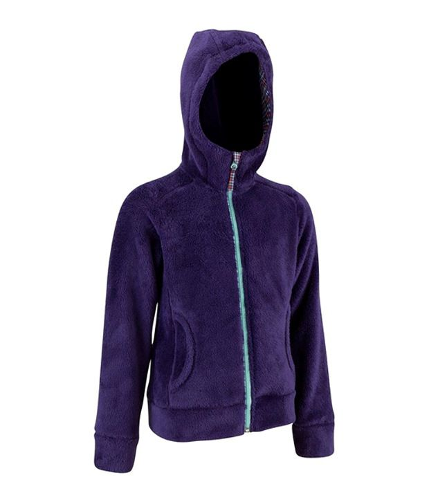 Quechua WARM HOODIE GIRL Hiking WARM WEAR 8284261