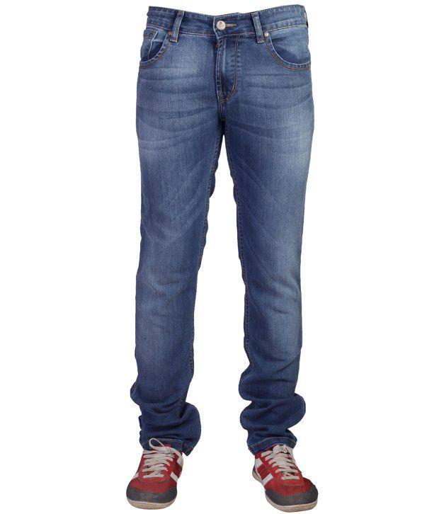 Mojave Sky Blue Slim Fit Jeans