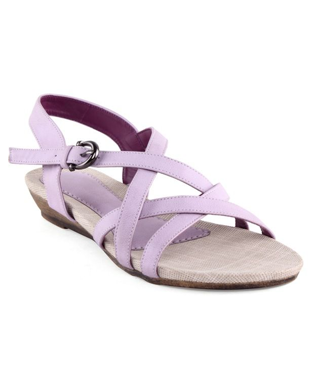 Kielz Purple Back Strap Sandals
