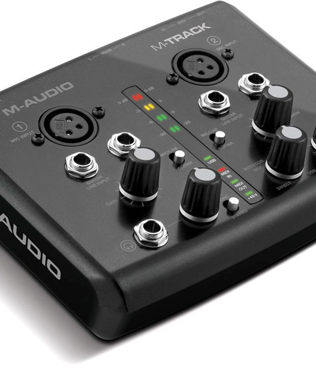 m audio m track 2x2 usb audio interface with ignite by air and ableton live lite 2 buy m. Black Bedroom Furniture Sets. Home Design Ideas