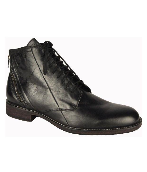 Salt 'n' Pepper Must Have Black High Ankle Length Boots