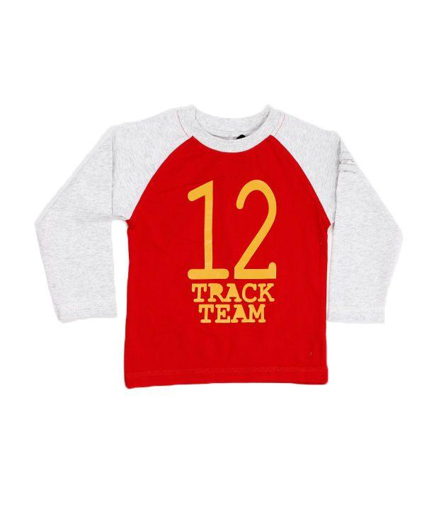 F S Miniklub NO 12 Tee - Scarlet For Kids