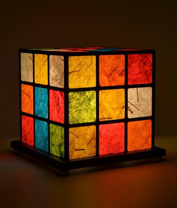 Shady Ideas Qubix Mini Table Lamp