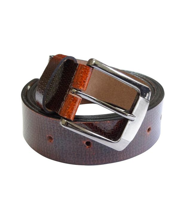 Revo Pull Up Leather Belt (Brown)