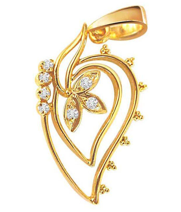Surat Diamond 18Kt Gold & Diamond Thoughts of you