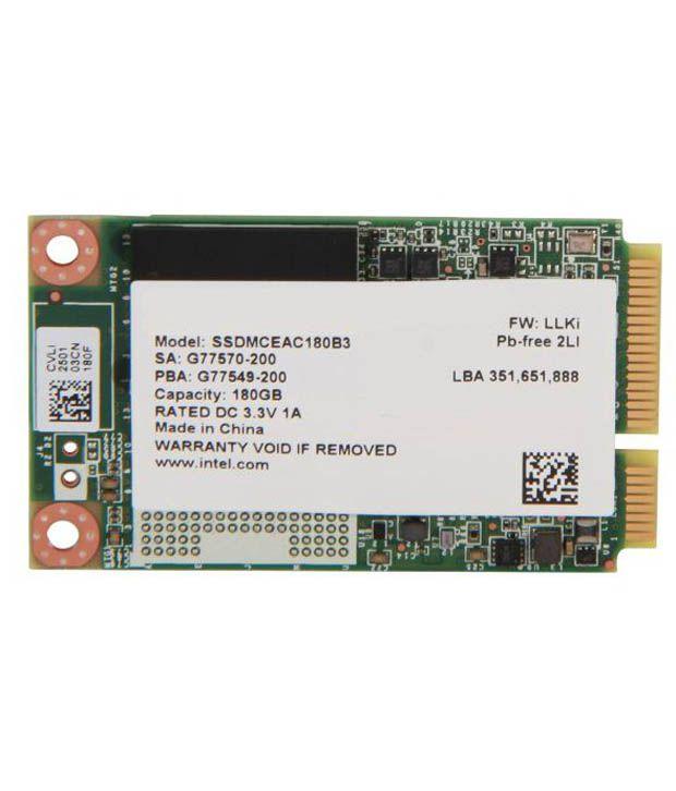 INTEL 525 Series 180 GB SSD(Solid State Drive) Internal Hard Drive