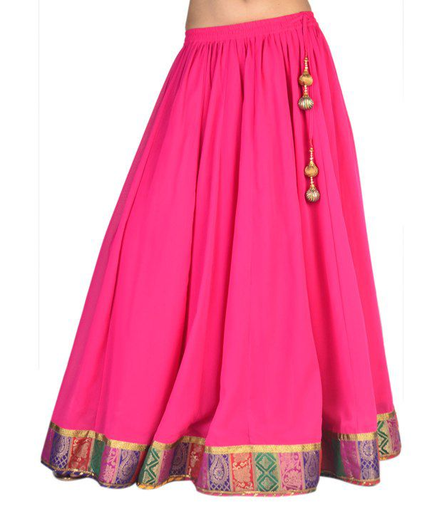 Georgette Long Skirts Online