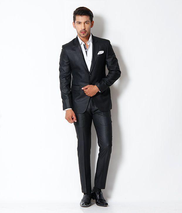 The Design Factory Black Suit - Buy The Design Factory Black Suit ...
