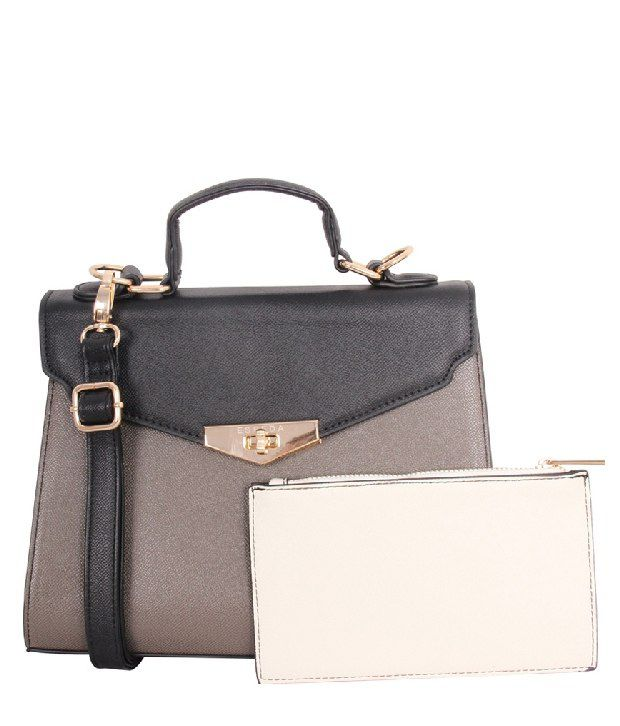 Esbeda Esb-687-Gray Satchel Bag