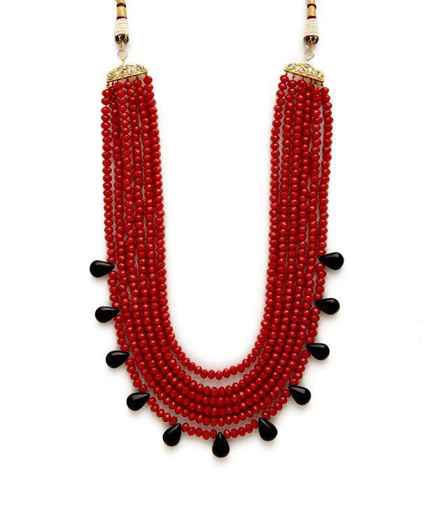 Arvokas Multi- Layer Bead Necklace