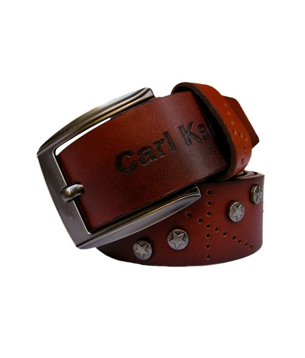 Winsome Deal Men's Brown Synthetic Leather Casual Belt - CSLB13