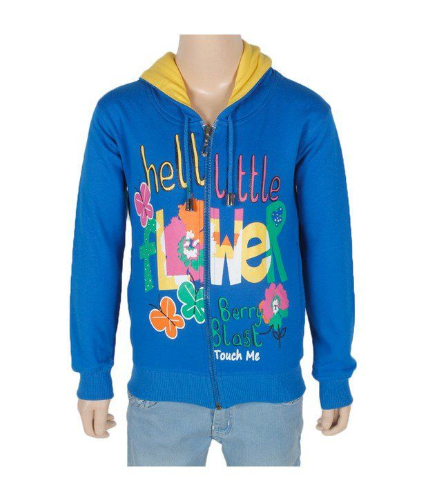 Touch Me R.Blue Sweatshirt For Kids