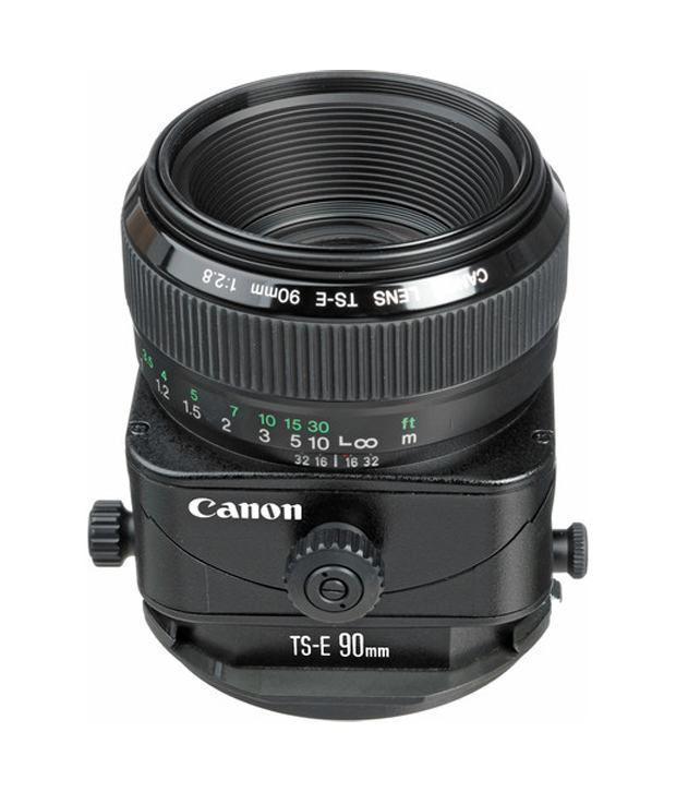 Canon TS-E 90mm F/2.8 Telephoto Tilt Shift Manual Focus Lens for EOS
