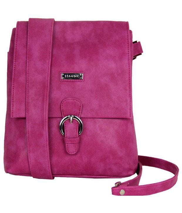 Esbeda 8261001-Pink Sling Bag - Buy Esbeda 8261001-Pink Sling Bag ...