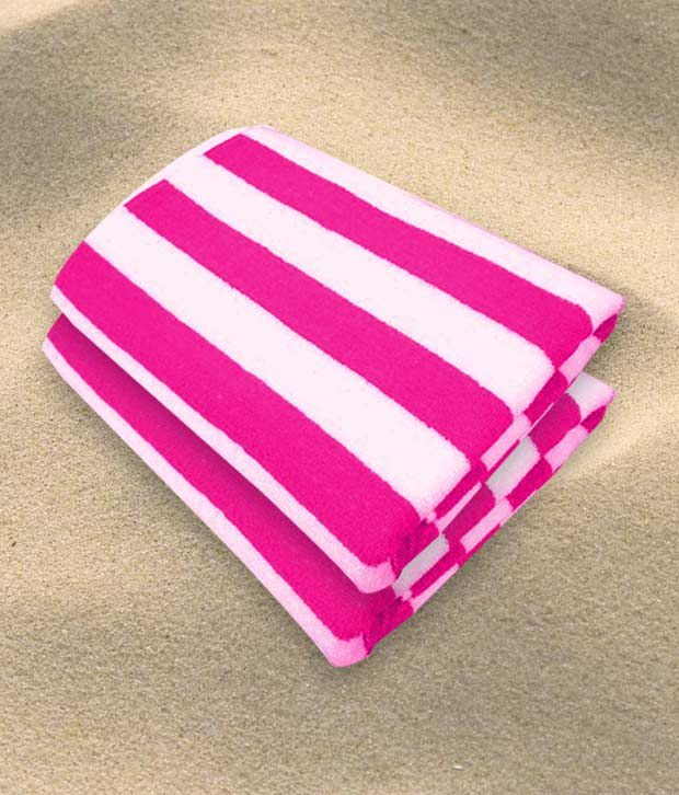Who Sells Cannon Bath Towels: King Size Cabana Bath Towels (68X136 Cm) (Buy1 Get1)