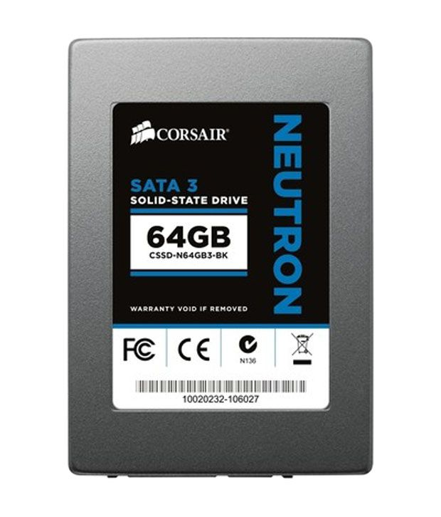 Corsair Neutron Series 64 GB SSD(Solid State Drive)