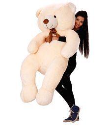 Cute Stuff Teddy Bear - 5 Feet (Cream)