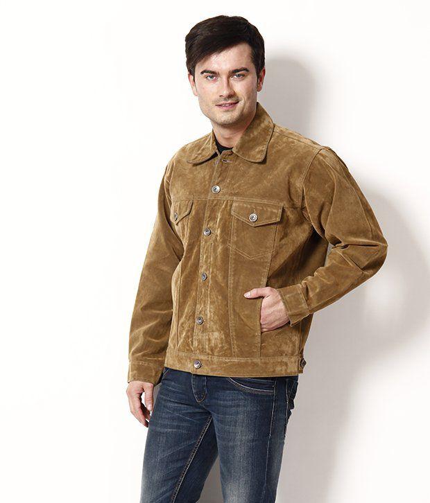 Fever Smart Brown Denim Jacket - Buy Fever Smart Brown Denim