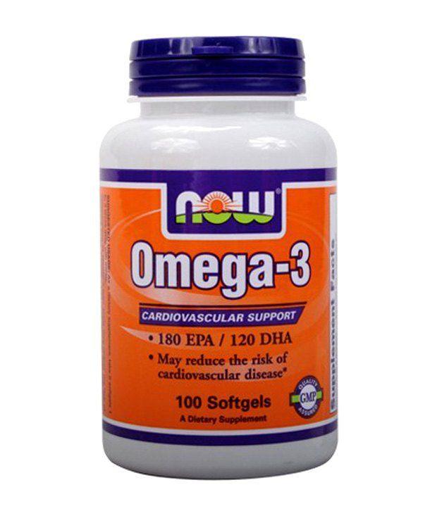 now foods omega 3 softgel 100 no s