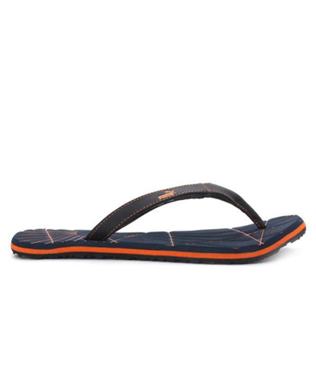 Puma Orange Webster EVA Flip Flops Price in India- Buy Puma Orange Webster  EVA Flip Flops Online at Snapdeal 42b2ddbf2