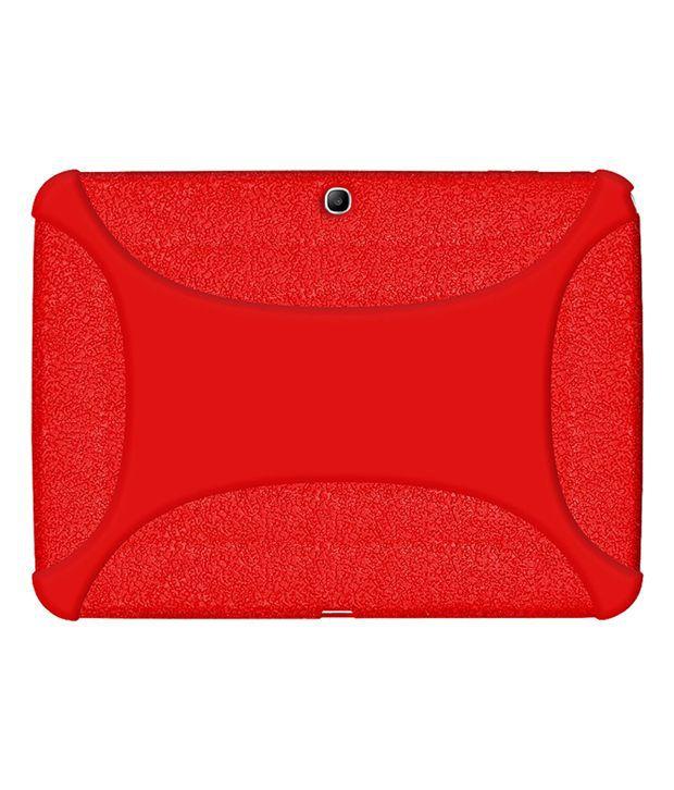 Amzer 96105 Silicone Case - Red Samsung Galaxy Tab 3 10.1