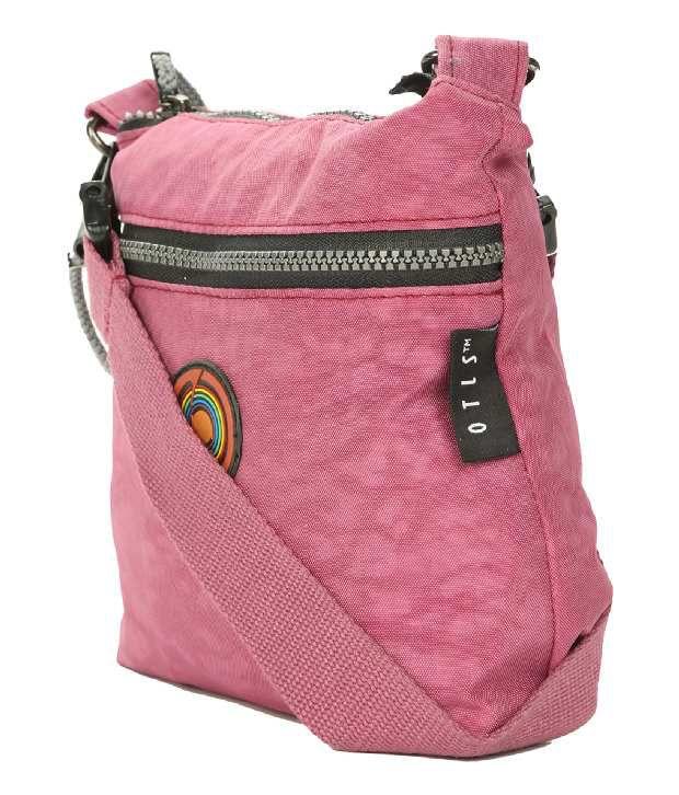 Otls 10AR700002801  Pink Sling Bag