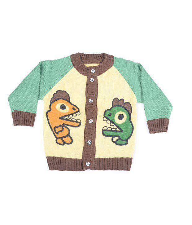 Jonez Green Jacket For Boys