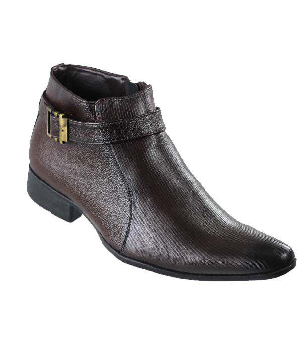 D'Ziner Tobillo 4806 Brown Men Formal Boots