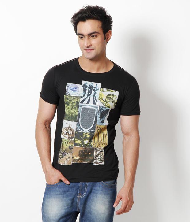 Status Quo Exclusive Black T Shirt