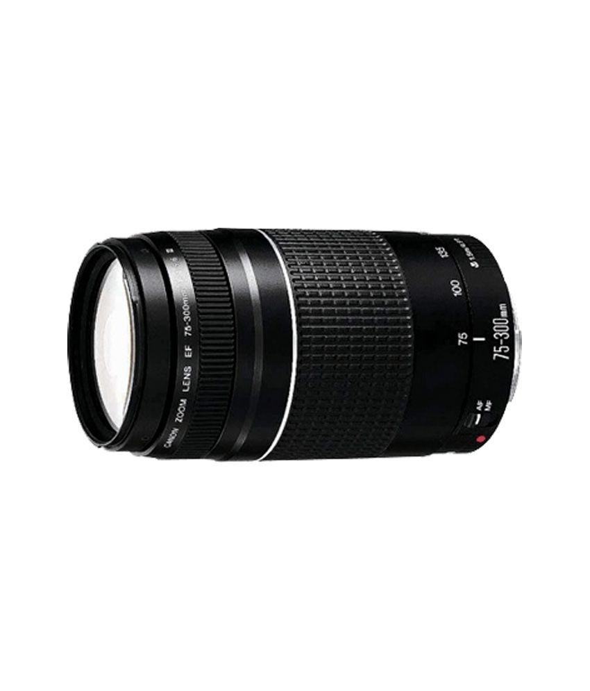 Canon EF75-300mm f/4-5.6 III Lens