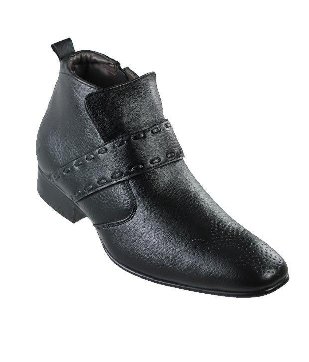D'Ziner Tobillo 1991 Black Men Formal Boots