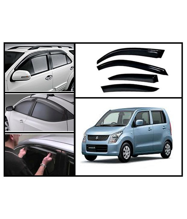 flomaster maruto wagonr old rain and sun protection car ventvisors interior protectors cum. Black Bedroom Furniture Sets. Home Design Ideas