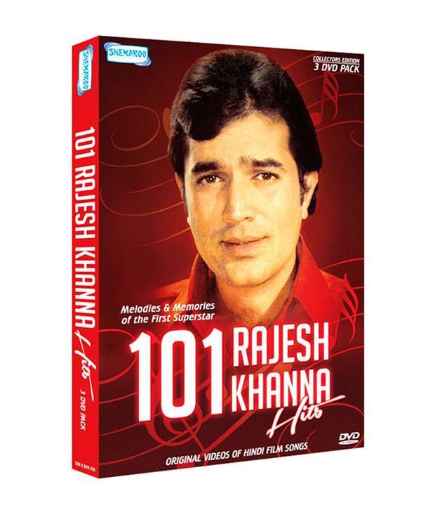 101 Rajesh Khanna Hits (Hindi ) DVD
